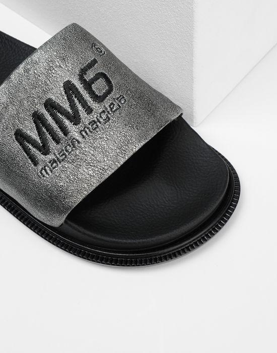 MM6 MAISON MARGIELA Calfskin sandals Sandals [*** pickupInStoreShipping_info ***] a