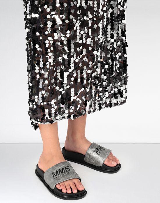 MM6 MAISON MARGIELA Calfskin sandals Sandals [*** pickupInStoreShipping_info ***] b