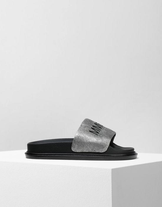 MM6 MAISON MARGIELA Calfskin sandals Sandals [*** pickupInStoreShipping_info ***] f