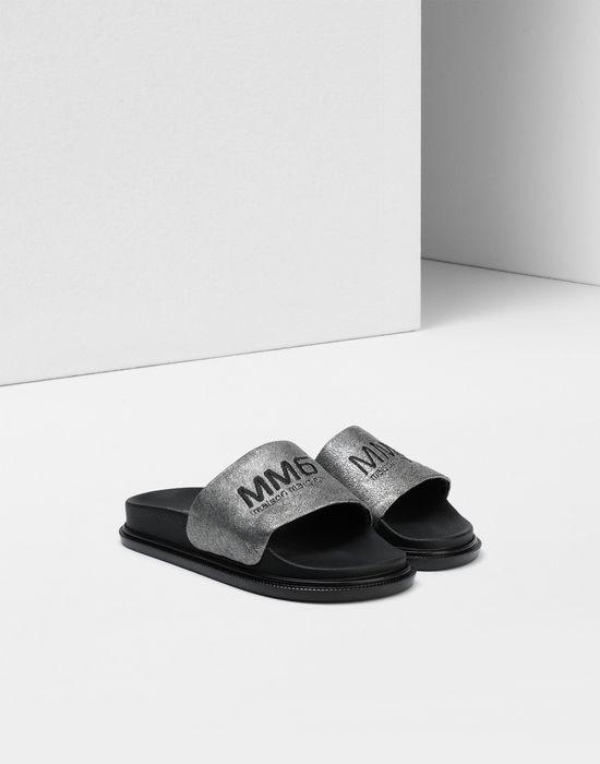 MM6 MAISON MARGIELA Calfskin sandals Sandals [*** pickupInStoreShipping_info ***] r