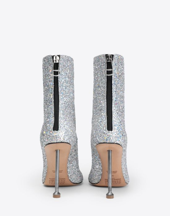MAISON MARGIELA Glitter boots  Ankle boots [*** pickupInStoreShipping_info ***] d