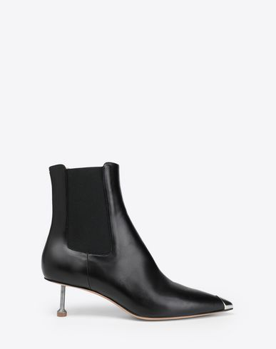 MAISON MARGIELA Ankle boots [*** pickupInStoreShipping_info ***] Stiletto leather boots f