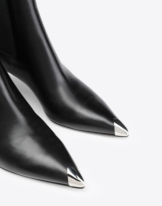 MAISON MARGIELA Stiletto leather boots Ankle boots [*** pickupInStoreShipping_info ***] a