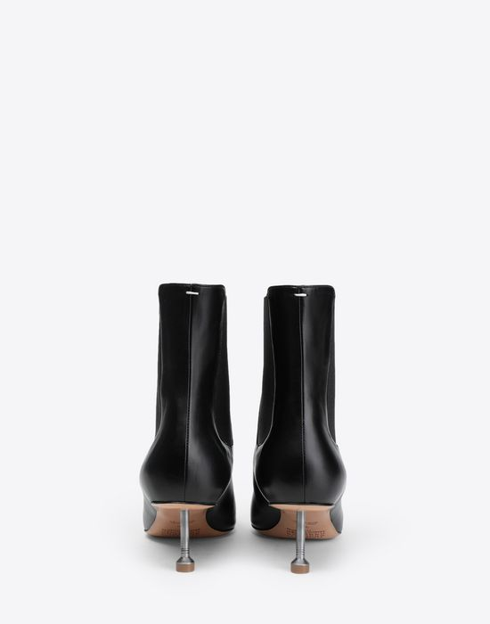 MAISON MARGIELA Stiletto leather boots Ankle boots [*** pickupInStoreShipping_info ***] d