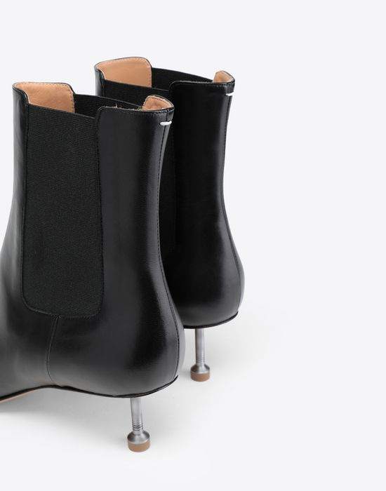 MAISON MARGIELA Stiletto leather boots Ankle boots [*** pickupInStoreShipping_info ***] e