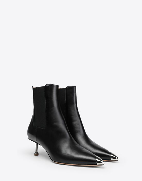 MAISON MARGIELA Stiletto leather boots Ankle boots [*** pickupInStoreShipping_info ***] r