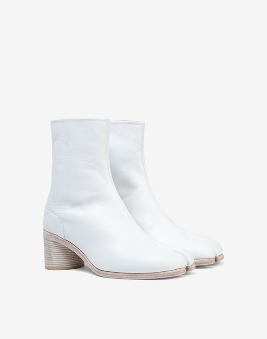 MAISON MARGIELA Light brushed Tabi high boots Ankle boots [*** pickupInStoreShippingNotGuaranteed_info ***] d