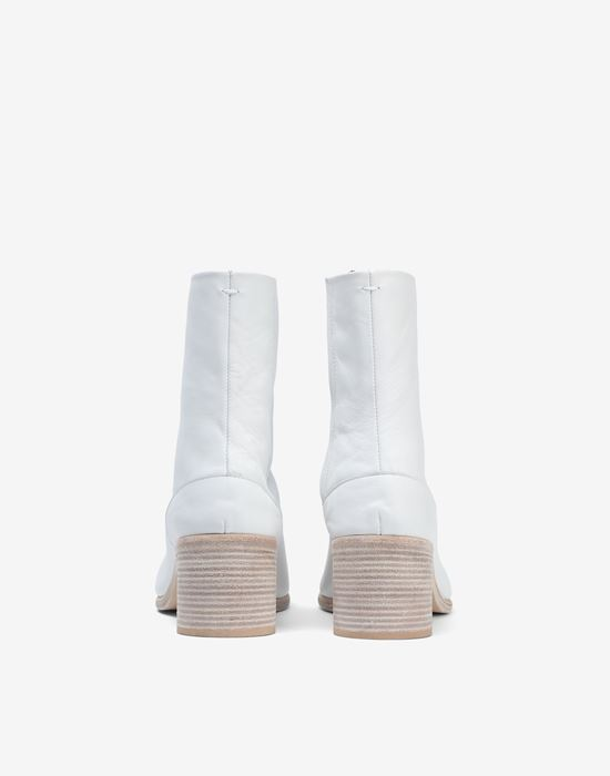 MAISON MARGIELA Light brushed Tabi high boots Ankle boots [*** pickupInStoreShippingNotGuaranteed_info ***] e