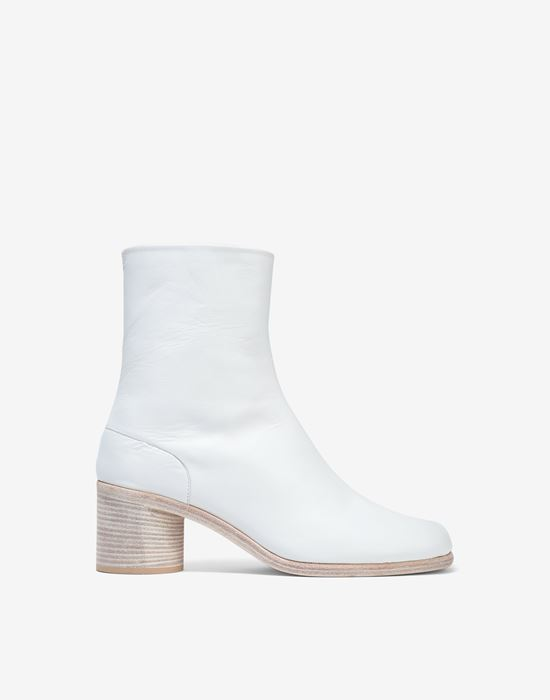 MAISON MARGIELA Light brushed Tabi high boots Ankle boots [*** pickupInStoreShippingNotGuaranteed_info ***] f