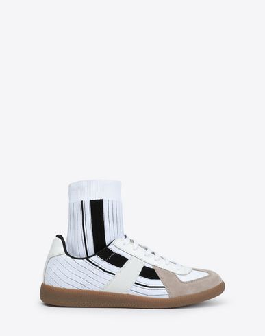 MAISON MARGIELA Sneakers Man Replica high-top sock sneakers f