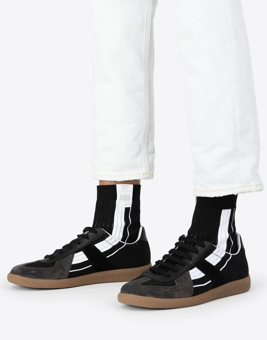 MAISON MARGIELA Replica high-top sock sneakers Sneakers [*** pickupInStoreShippingNotGuaranteed_info ***] b