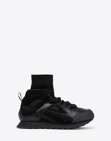 MAISON MARGIELA Sneakers Man High top Security sock runners f