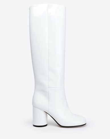 MAISON MARGIELA Boots Woman Patent-leather boots  f