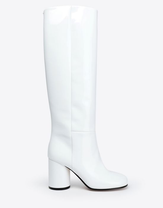 MAISON MARGIELA Patent-leather boots  Boots [*** pickupInStoreShipping_info ***] f