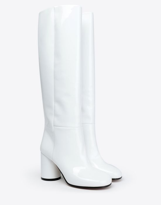 MAISON MARGIELA Patent-leather boots  Boots [*** pickupInStoreShipping_info ***] r