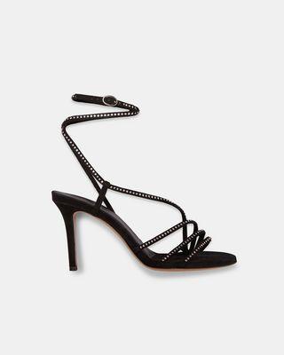 AMSPEE rhinestone high heels