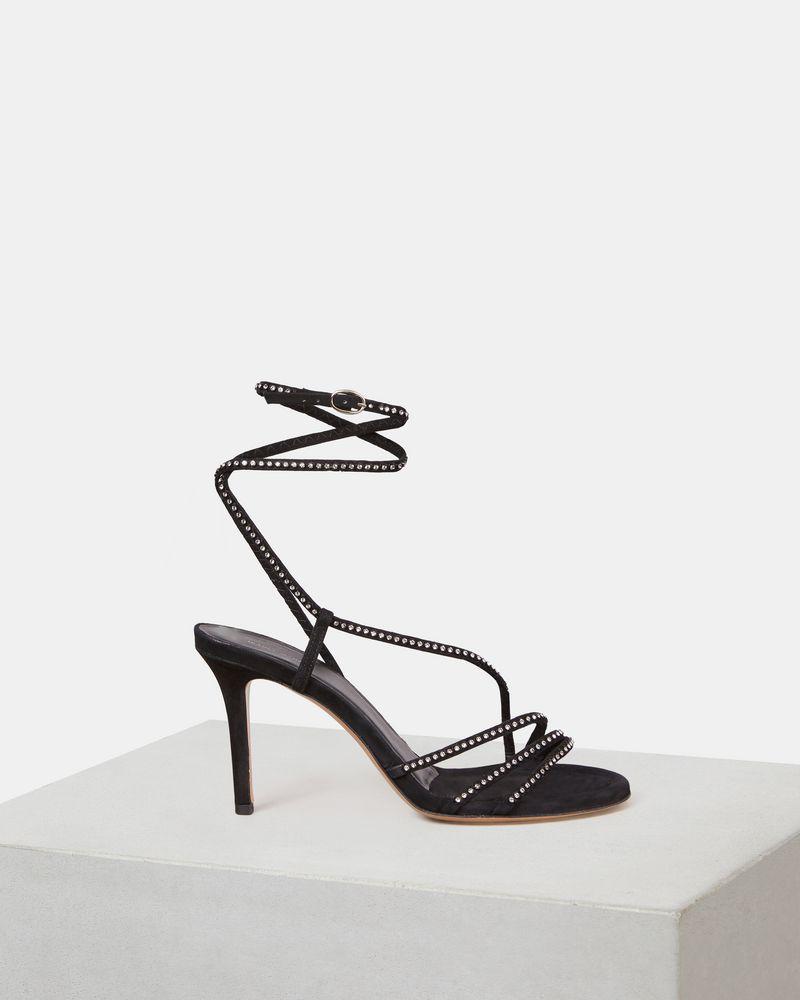 AMSPEE rhinestone high heels ISABEL MARANT