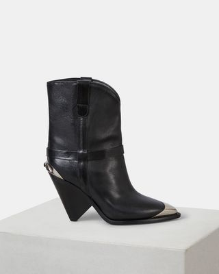 ISABEL MARANT BOOTS Woman LAMSY ankle boots d