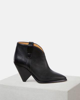 ISABEL MARANT BOOTS Woman LENSTAM ankle boots d