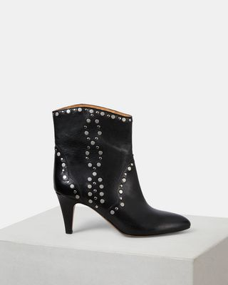 ISABEL MARANT BOOTS Woman DRAZEE studded ankle boots d