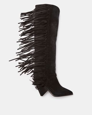LENSTON fringed boots