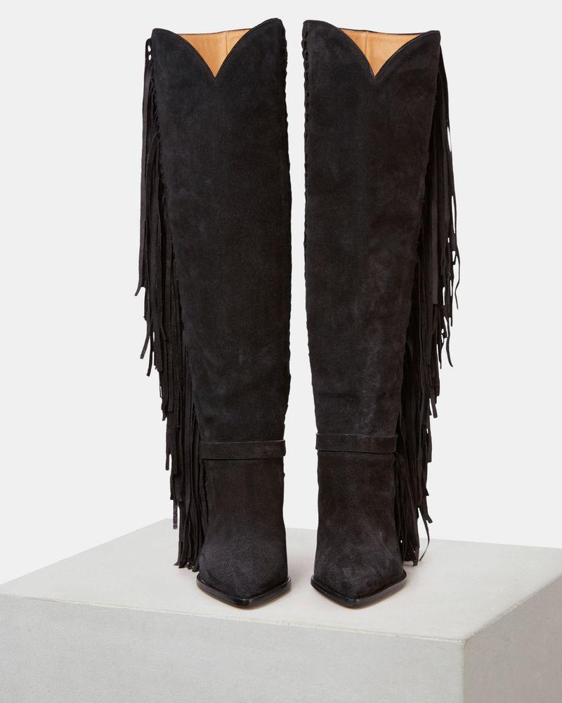 LENSTON fringed boots ISABEL MARANT