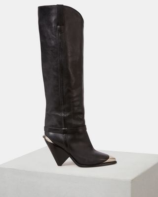ISABEL MARANT BOOTS Woman LENSKEE boots d