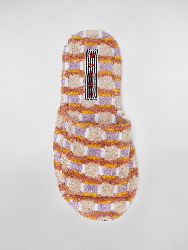 Marni Slipper in cotton sponge  Man - 4