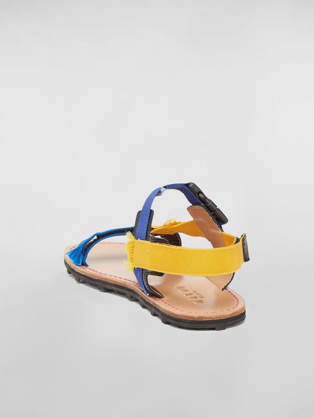Marni Sandal in cotton ribbon Man