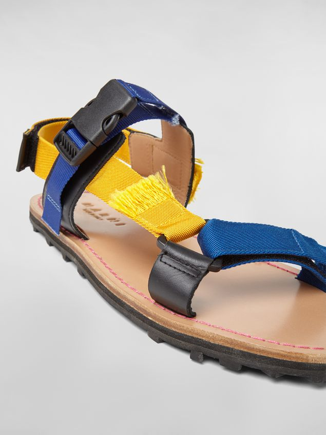 Marni Sandal in cotton ribbon Man - 5