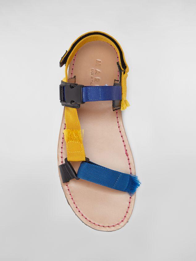 Marni Sandal in cotton ribbon Man - 4