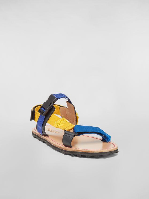 Marni Sandal in cotton ribbon Man - 2