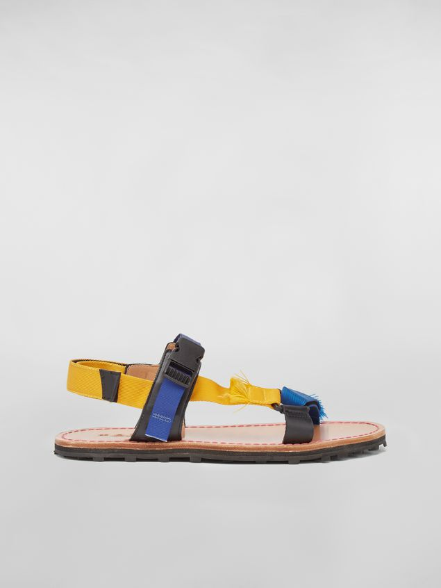 Marni Sandal in cotton ribbon Man - 1