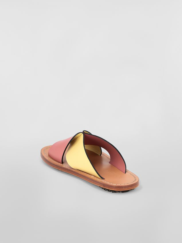 Marni Criss-cross sandal in calfskin Woman