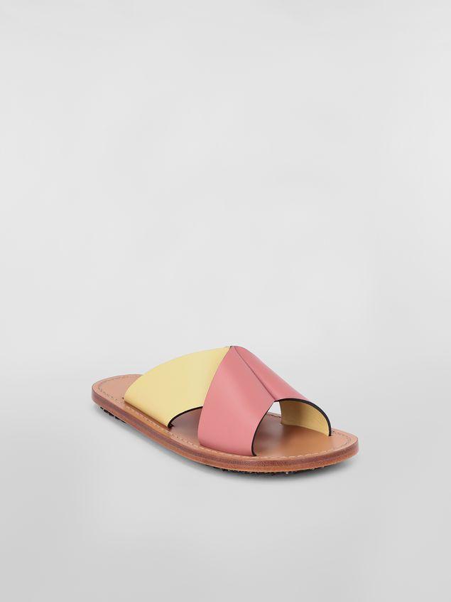 Marni Criss-cross sandal in calfskin Woman - 2