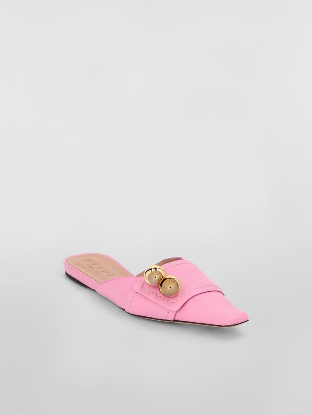 Marni Mule in pink lambskin  Woman - 2