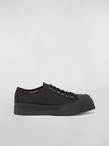 Marni Pablo Sneaker in canvas black Man f