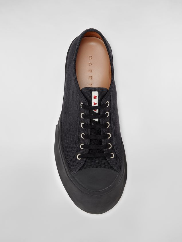 Marni Pablo sneaker in canvas black Man - 4