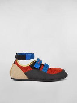 Marni Sneaker in suede Man