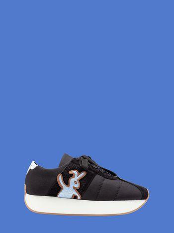 Marni Marni Big Foot sneaker in black cordura Man