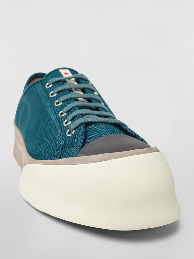 Marni Pablo sneaker in canvas green Man - 5