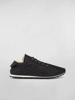 Marni Sneaker in techno jersey black Man