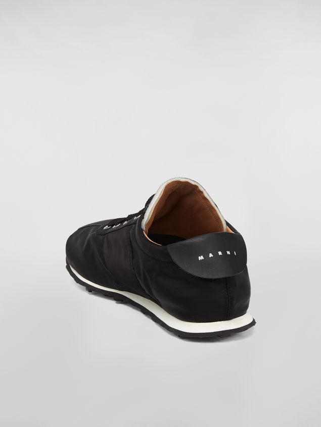 Marni Sneaker in techno jersey black Man