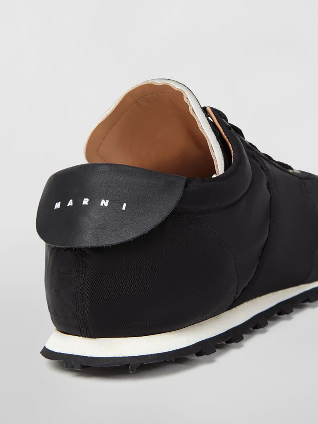 Marni Sneaker in techno jersey black Man - 5