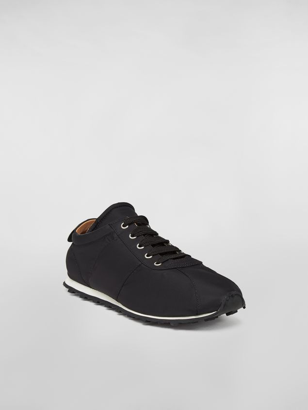 Marni Sneaker in techno jersey black Man - 2