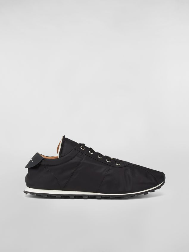Marni Sneaker in techno jersey black Man - 1