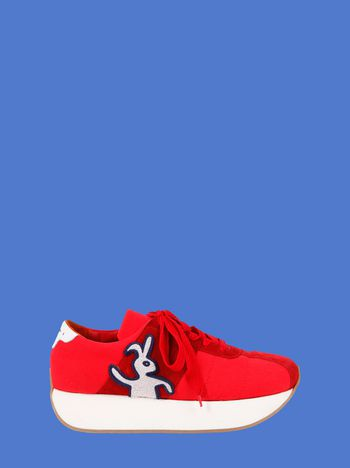 Marni Marni Big Foot sneaker in red cordura Man