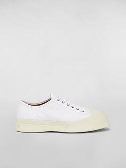 Marni Canvas-Sneaker Pablo in Weiß Herren