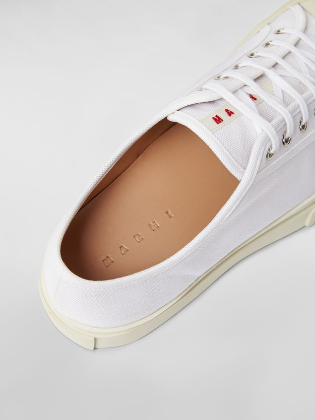 MARNI Sneakers Herr Canvas-Sneaker Pablo in Weiß a