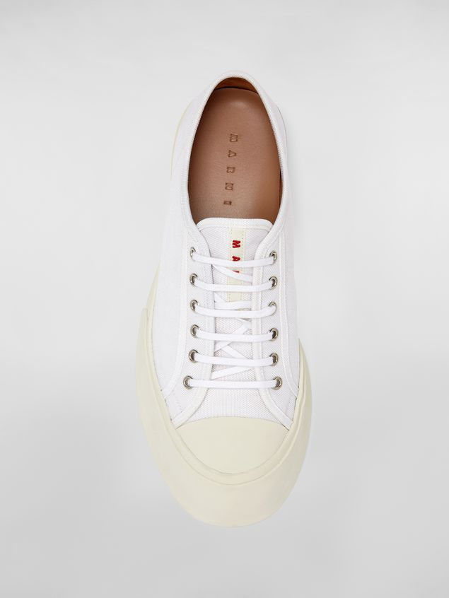Marni Pablo sneaker in canvas white Man - 4